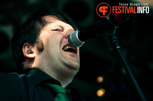 Mr. Irish Bastard op Geuzenpop 2012 foto