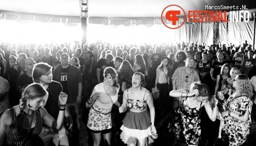 Reel Big Fish op Huntenpop 2012 foto