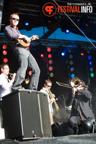 Bellowhead op Huntenpop 2012 foto
