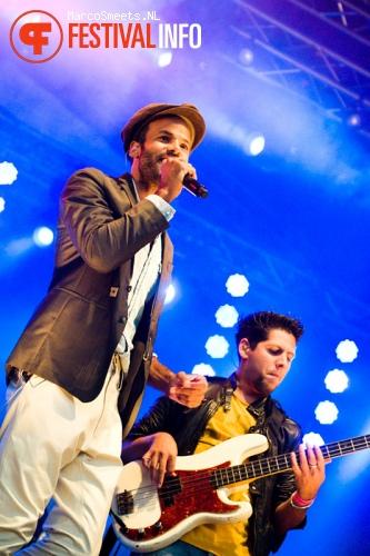 Alain Clark op Huntenpop 2012 foto
