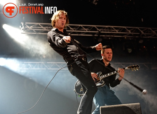Foto Refused op Lowlands 2012 - dag 1