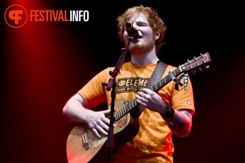 Ed Sheeran op Lowlands 2012 - dag 1 foto
