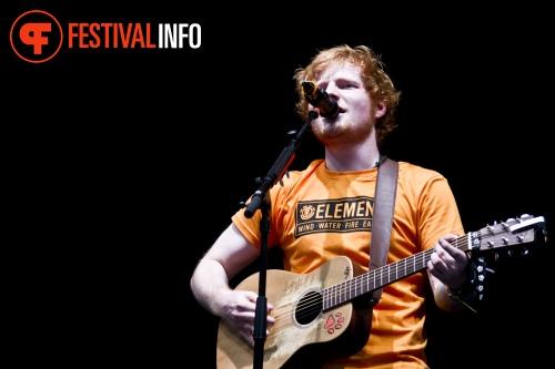 Foto Ed Sheeran op Lowlands 2012 - dag 1