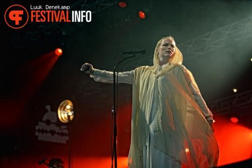 Foto Ane Brun op Lowlands 2012 - dag 3