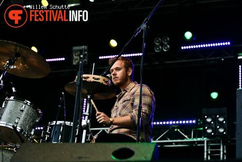 Boy & Bear op MS Dockville Festival 2012 foto