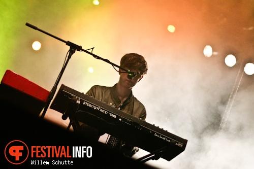 Foto James Blake op MS Dockville Festival 2012