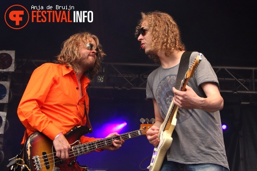 The Backcorner Boogieband op Waterpop 2012 foto