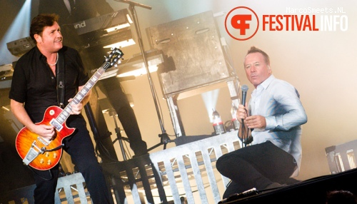 Foto Simple Minds op Brabant Open Air 2012
