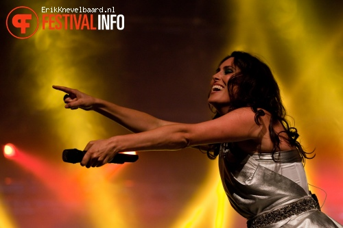 Foto Within Temptation op Appelpop 2012