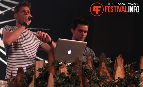 Coen & Sander op Zo. Festival 2012 foto