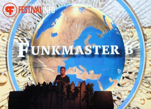 Funkmaster B op Zo. Festival 2012 foto