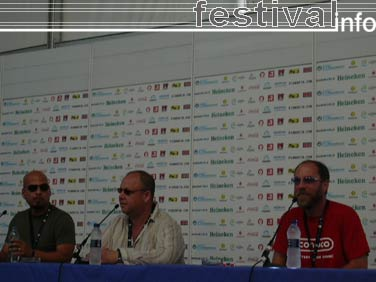 Foto Pixies op Festival Internacional de Benicassim 2006