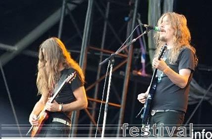 Foto Opeth op Wacken Open Air 2006