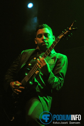 Upon A Burning Body op Trivium - 25/10 - 013 foto