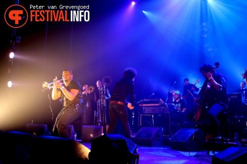 Foto The Kyteman Orchestra op Crossing Border Den Haag 2012