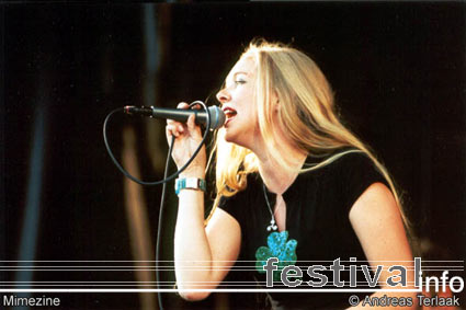 Mimezine op Beeckestijn Pop 2002 foto