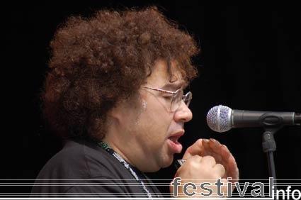 Foto Ruben Hoeke Band op Culemborg Blues 2006