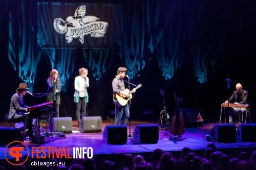 Foto Douwe Bob op Songbird Festival 2012