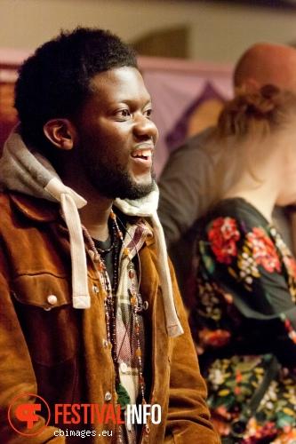 Michael Kiwanuka op Songbird Festival 2012 foto