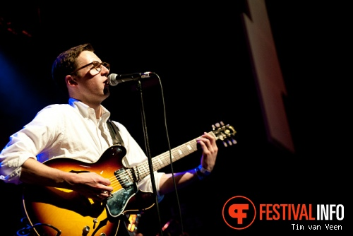 Nick Waterhouse op Le Guess Who? 2012 foto