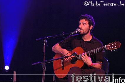 Foto José González op Pukkelpop 2006
