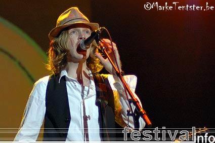 Foto Beck op Pukkelpop 2006