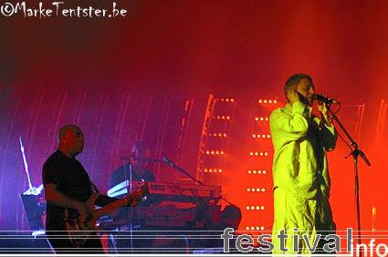 Foto Massive Attack op Pukkelpop 2006