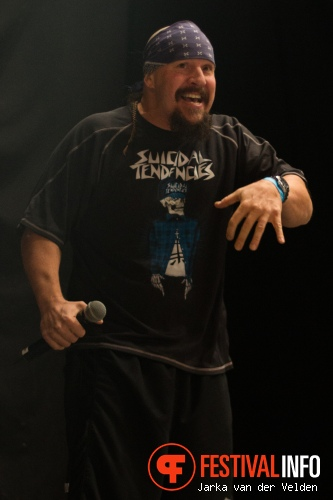 Suicidal Tendencies op Speedfest 2012 foto