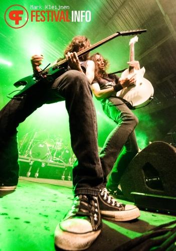 Death Angel op Distortion 2012 foto