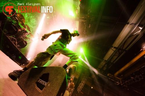 Meshuggah op Distortion 2012 foto