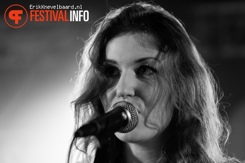 Tessa Rose Jackson op Eurosonic Noorderslag 2013 foto