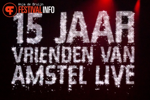 De Vrienden van Amstel Live 2013 foto