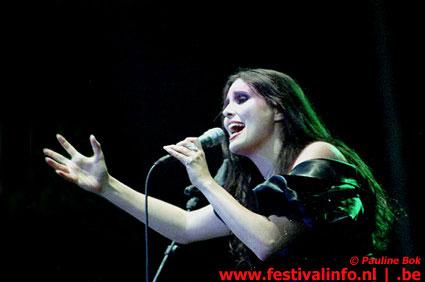 Foto Within Temptation op Wâldrock 2002