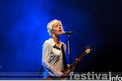 Foto Sarah Bettens op Appelpop 2006