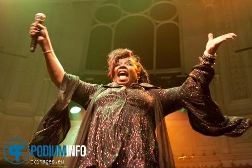 Betty Wright op Betty Wright - 11/2 - Paradiso foto