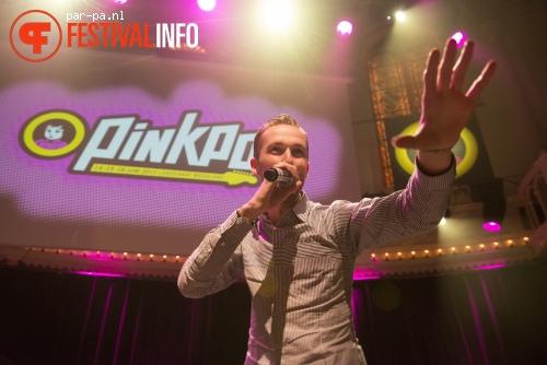 The Opposites op Pinkpop Perspresentatie - 20/2 - Paradiso foto