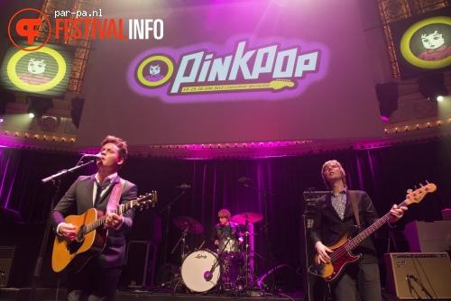 Douwe Bob op Pinkpop Perspresentatie - 20/2 - Paradiso foto
