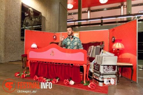 DJ Swoolish op Cross-linx 2013 foto