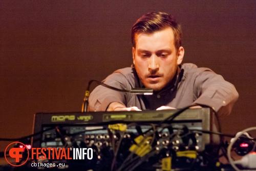 Brandt Brauer Frick op Cross-linx 2013 foto
