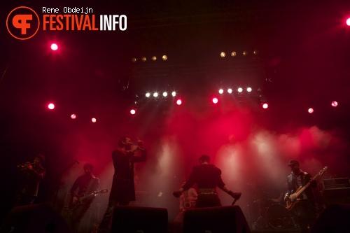 Babylon Circus op Paaspop 2013 - dag 2 foto