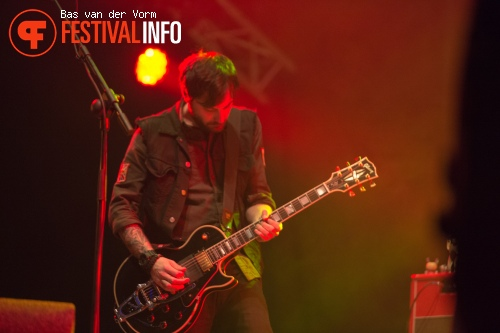 The Gaslight Anthem op paaspop 2013 - dag 3 foto