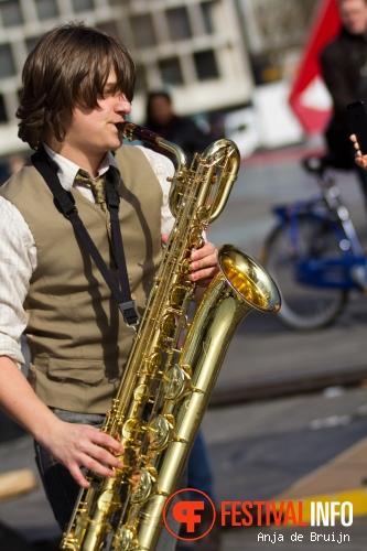 Broken Brass op Motel Mozaique 2013 - dag 2 foto