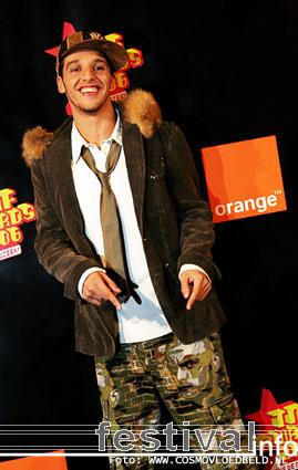 Foto Ali B op TMF Awards - 13 oktober - HMH
