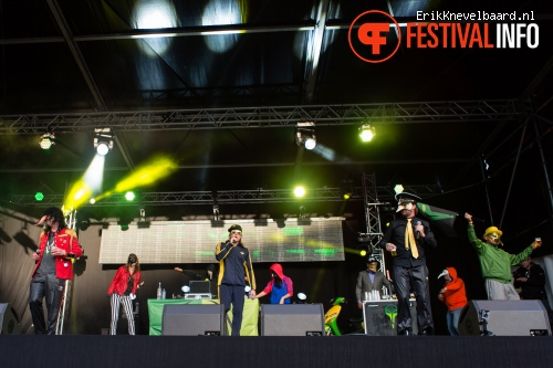 De Kraaien op LIFE I LIVE Festival 2013 foto