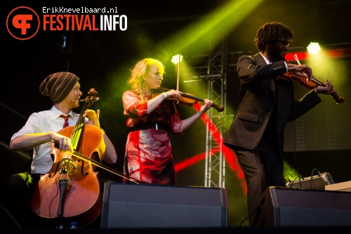 Re:Freshed Orchestra op LIFE I LIVE Festival 2013 foto