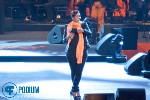 Edsilia Rombley op Samen voor Oranje - 30/4 - Ahoy foto