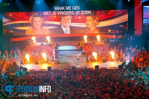 Gerard Joling op Nacht van Oranje - 29/04 - Ahoy foto