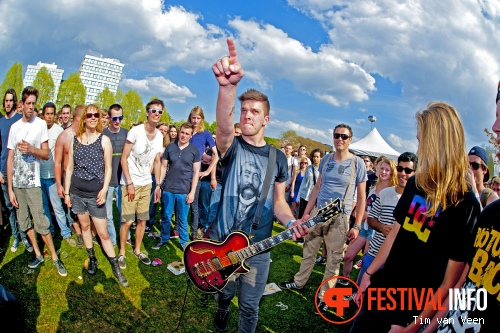 Foto John Coffey op Bevrijdingsfestival Utrecht 2013