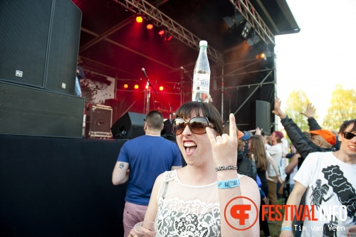 Gnucci op Bevrijdingsfestival Utrecht 2013 foto