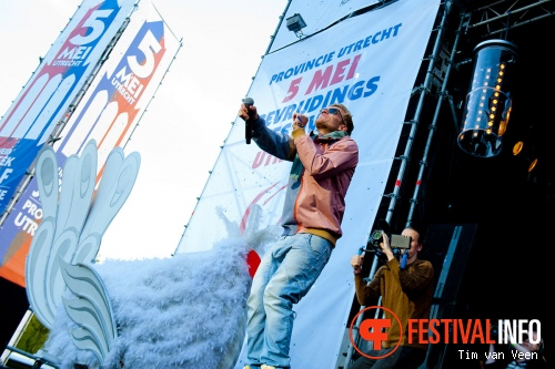 Chef'Special op Bevrijdingsfestival Utrecht 2013 foto